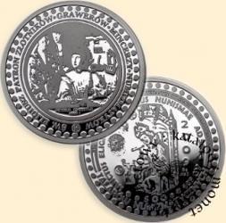 500 talarów numizmatycznych (Ag. 925) - św. Eligiusz