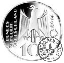 10 euro - 300 lecie skali Farenhaita