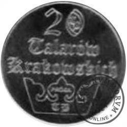 20 talarów krakowskich (Ag)