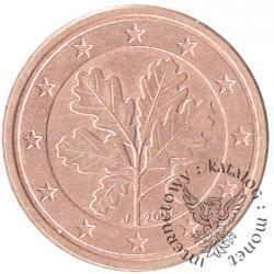 1 euro cent (J)