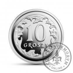 10 groszy - srebro