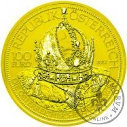100 euro - Korona Cesarstwa Austriackiego