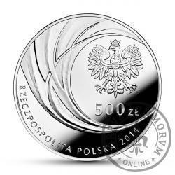 500 złotych - kanonizacja Jana Pawła II