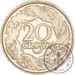 20 groszy - nikiel st. zw.