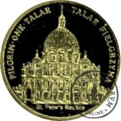 talar pielgrzyma - PILGRIM ONE TALAR / Beatyfikacja Stefana Wyszyńskiego (II emisja - mosiądz)