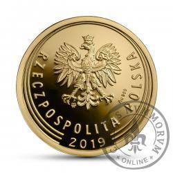 1 złoty - złoto