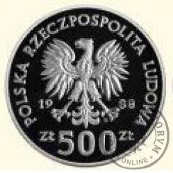 500 złotych - Jadwiga