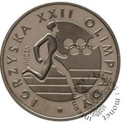 100 złotych - Igrzyska biegacz