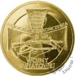2 złote - 60. rocznica zakończenia II wojny światowej