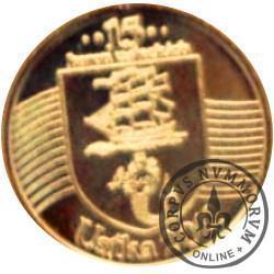 15 koron usteckich (II emisja - mosiądz)