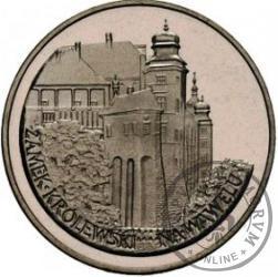 100 złotych - zamek królewski na Wawelu