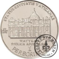 1 peregrinus / JAN PAWEŁ II - emisja II (stal)