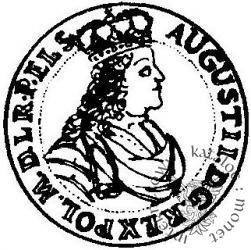 dukat gdański (popiersie w zbroi z obwódką - GEDANENS)