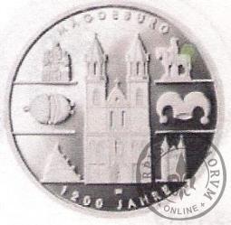 10 euro -   1200 lat Magdeburga