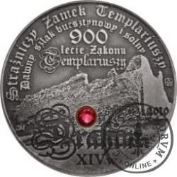 20 drahim / 900. LECIE ZAKONU TEMPLARIUSZY (mosiądz niklowany)