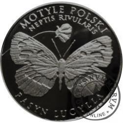 10 motylków / Pasyn lucylla (XI emisja - alpaka oksydowana)