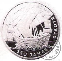 10 euro -   650 - lecie Hanzy