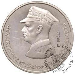 100 złotych - Sikorski profil