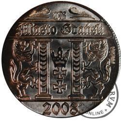 20 guldenów gdańskich (Au - próba)