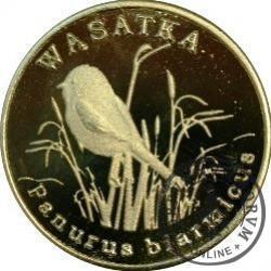 10 miedziaków chroniących przyrodę - WĄSATKA (mosiądz)