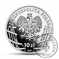 """10 złotych - 75. rocznica powołania Zrzeszenia """"Wolność i Niezawisłość"""""""