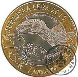 1 funt łebski - JURAJSKA ŁEBA / tyranozaur (III emisja)