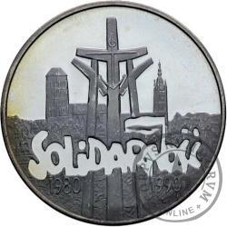 100 000 złotych - SOLIDARNOŚĆ duża, bez L, ZŁ daleko - typ D