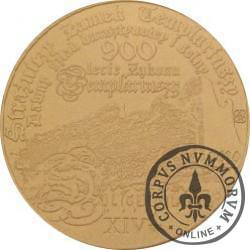 50 drahim / 900. LECIE ZAKONU TEMPLARIUSZY (mosiądz - mat)