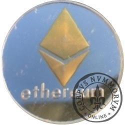Ethereum (miedź srebrzona z selektywnym złoceniem)
