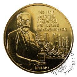 2 złote - 150-lecie przemysłu naftowego i gazowniczego