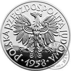 5 złotych - Rybak - Ag replika