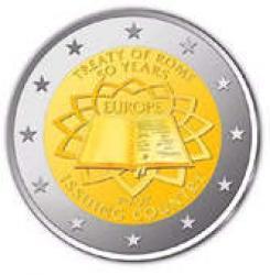 2 euro - 50 rocznica podpisania Traktatu Rzymskiego