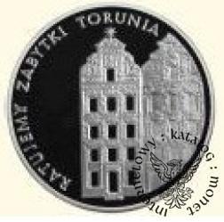 5000 złotych - zabytki Torunia