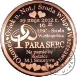 1 PARA SERC (moneta ślubna) - 32 mm