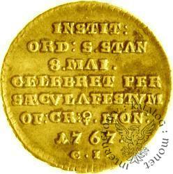 trojak - 8 wierszy - złoto