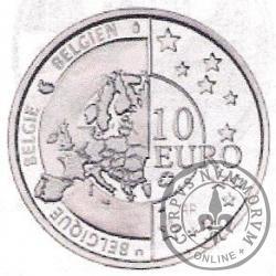 10 euro - 60 lat pokoju i wolności w Europie