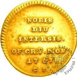 trojak - 6 wierszy - złoto