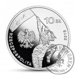 10 złotych - 100-lecie czynu zbrojnego Polonii amerykańskiej