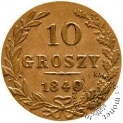 10 groszy - jak obiegowa CuZn