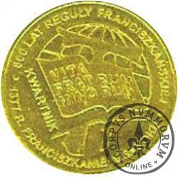 kwartnik franciszkański - Sanok (mosiądz)