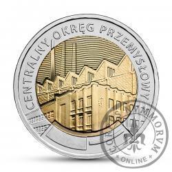 5 złotych - Centralny Okręg Przemysłowy COP