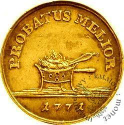 złotówka koronna - złoto