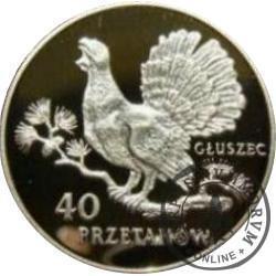 40 przetaków - Głuszec
