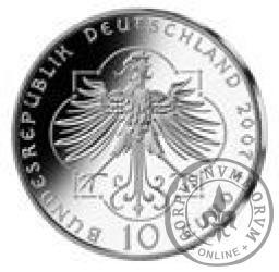 10 euro -   800 rocznica urodzin Elżbiety z Turyngii