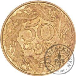 50 groszy - mosiądz
