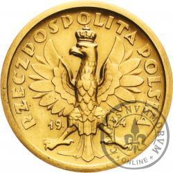 50 złotych - klęczący rycerz - bez nominału - Au