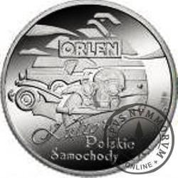 PKN ORLEN (I emisja) - Kultowe Polskie Samochody / Warszawa (Ag)