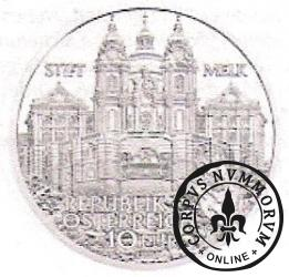 10 euro - Opactwo w  Melk