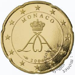 20 euro centów - stempel lustrzany