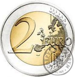 2 euro -  200. rocznica urodzin Louisa Braille'a